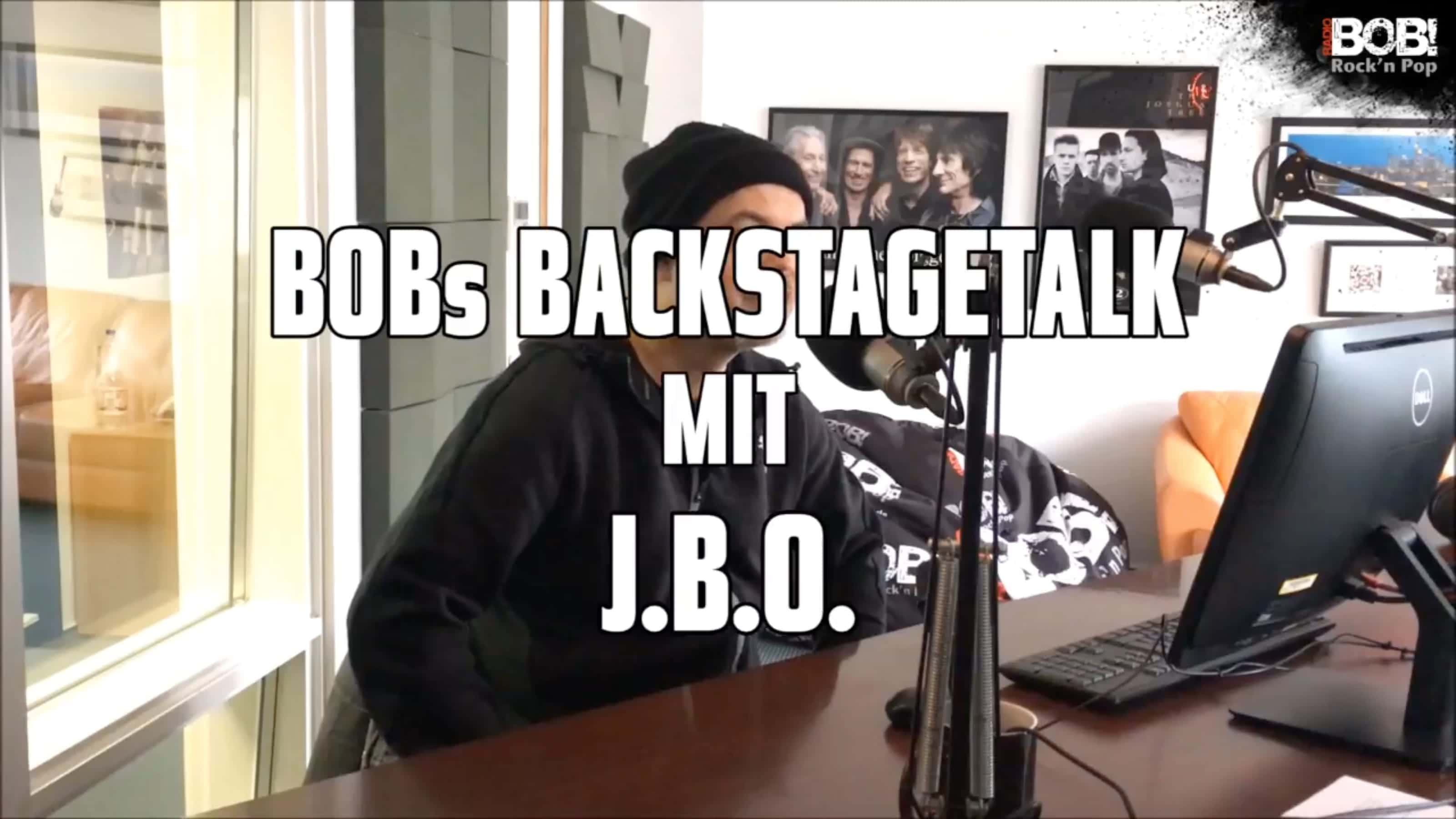 Hannes im BOB Backstagetalk
