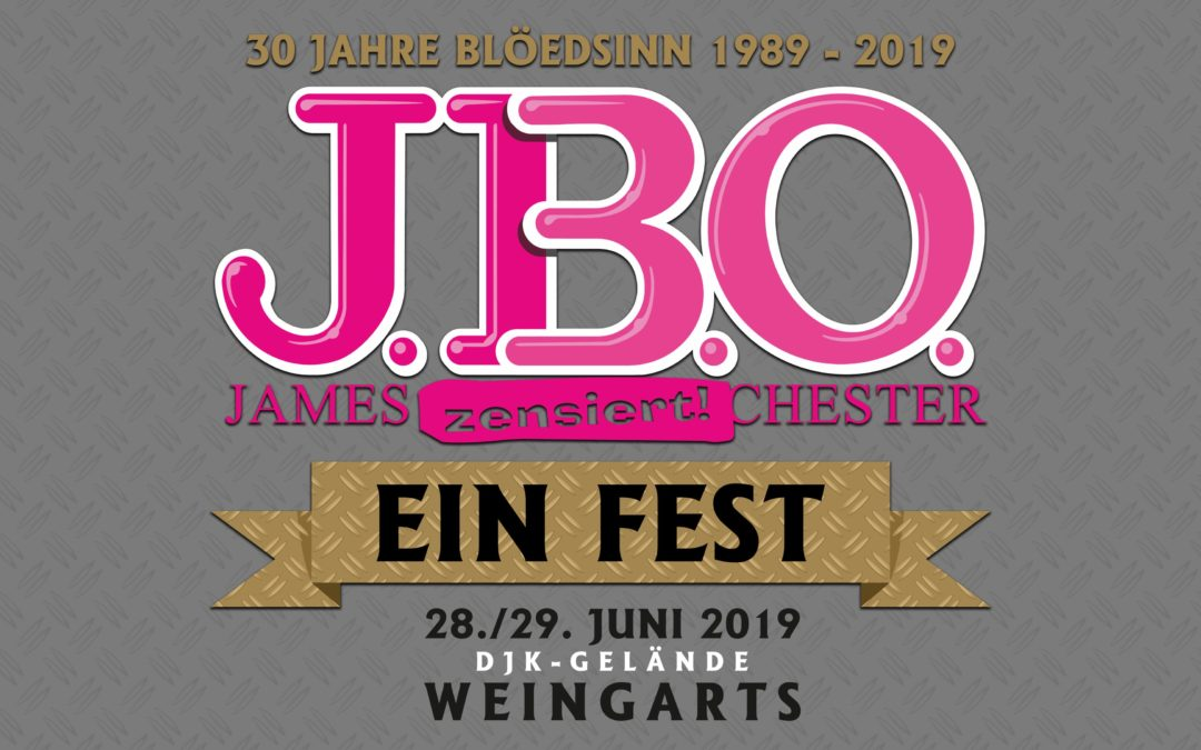 30 Jahre Blöedsinn, daher feiern J.B.O. ein Fest! 