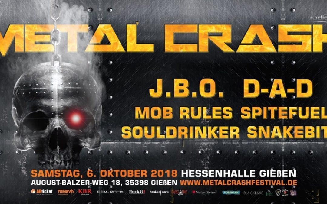 Metal Crash Festival abgesagt 🙁