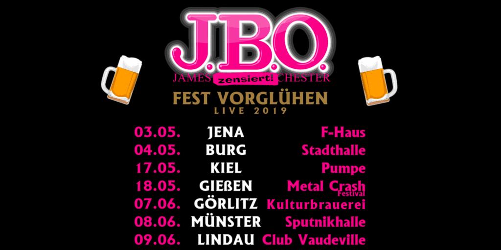 Fest Vorglühen Live 2019: 07.06.19 - Görlitz, Kulturbrauerei