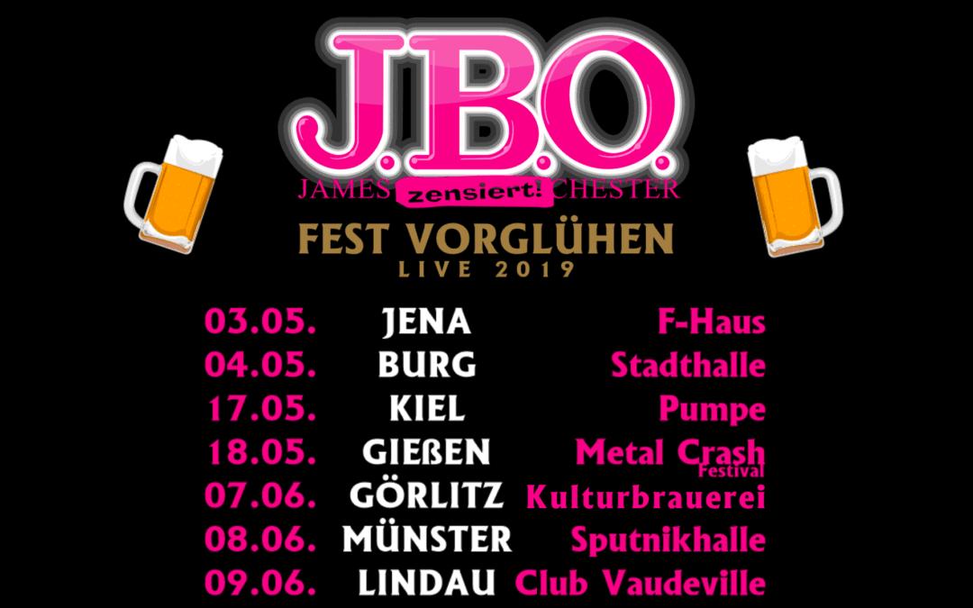 Fest Vorglühen Tour 2019