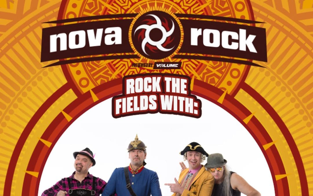 🎁 Blastvent: J.B.O. sind 2019 beim Nova Rock
