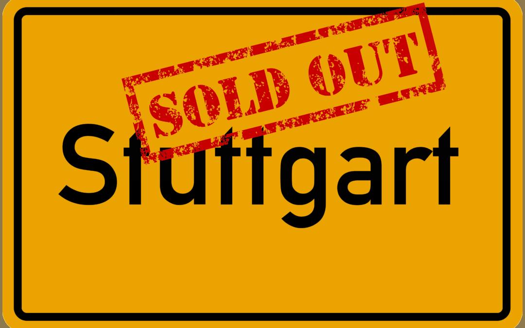 Sau-Tour 2019: Stuttgart ausverkauft!