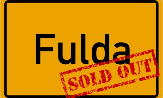 Sau-Tour 2019: Fulda ausverkauft!