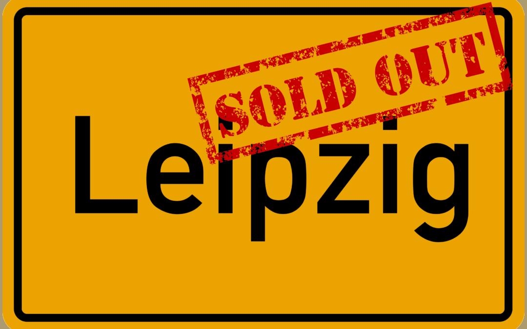 Sau-Tour 2019: Leipzig ist ausverkauft!
