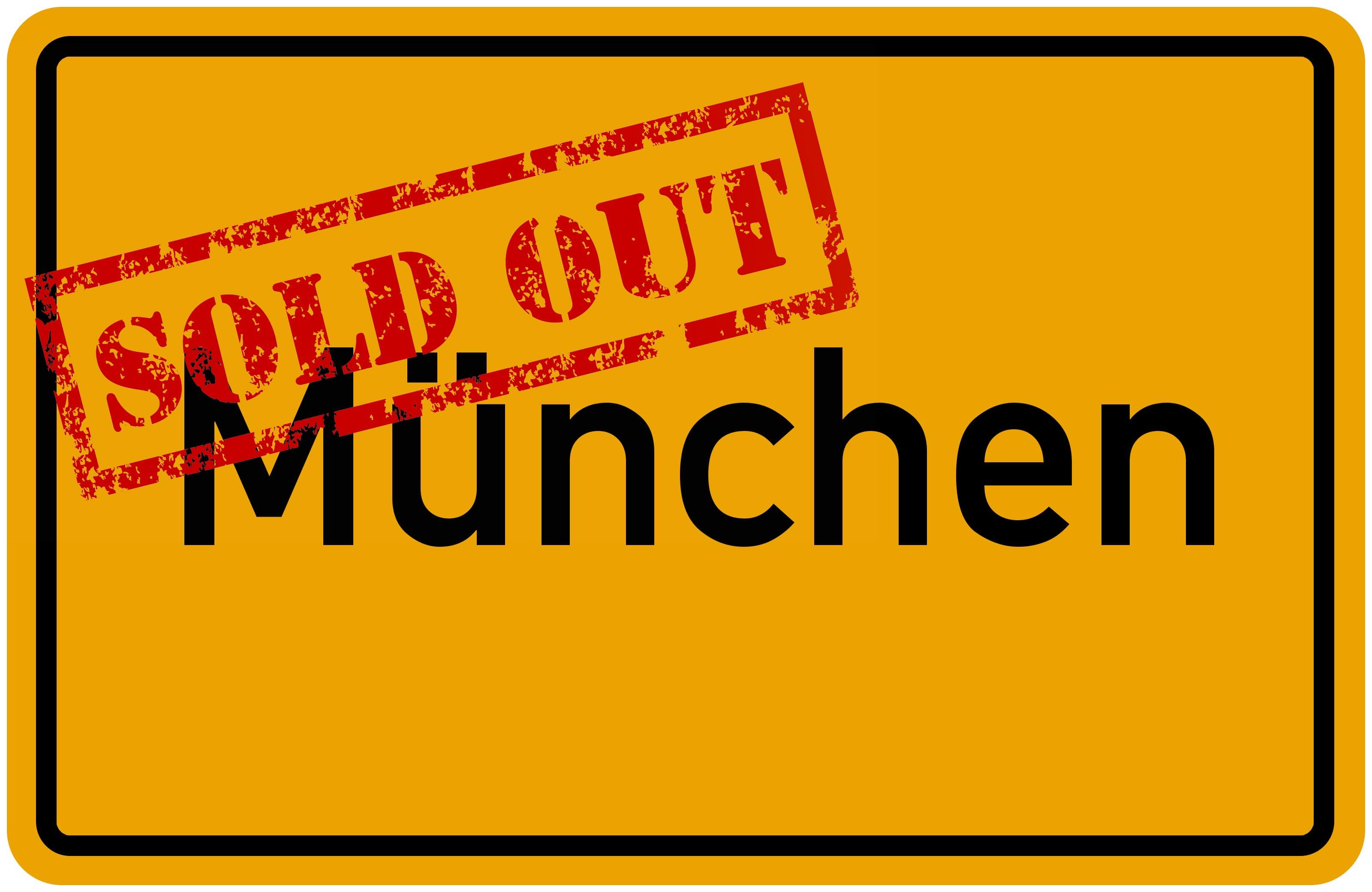 Sau-Tour 2019: München ausverkauft!