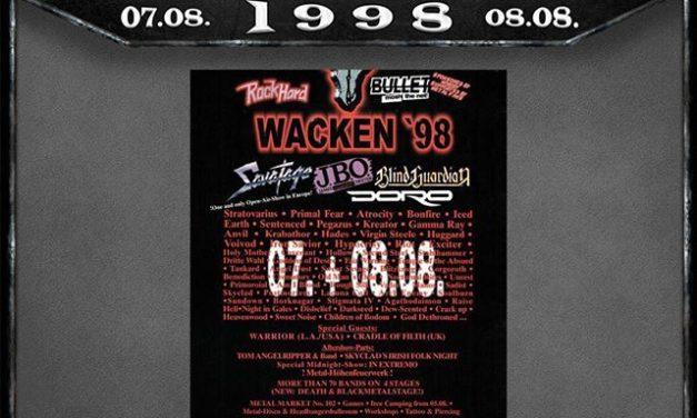 """Instagram: """"1998 war unser #ErstesMal in Wacken! Wer war da?"""""""