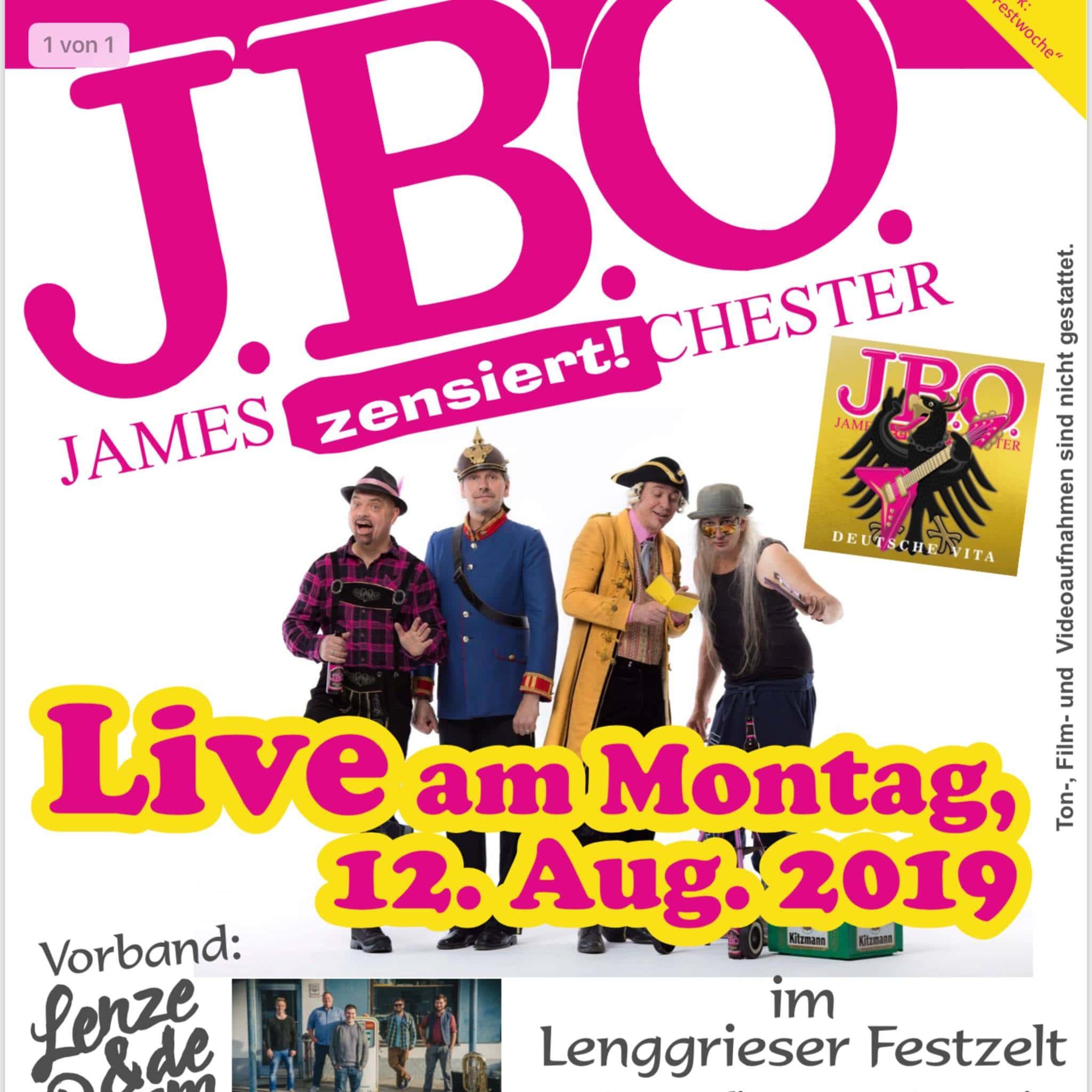 12.08.19 - Lenggrieser-Festwoche, Lenggries