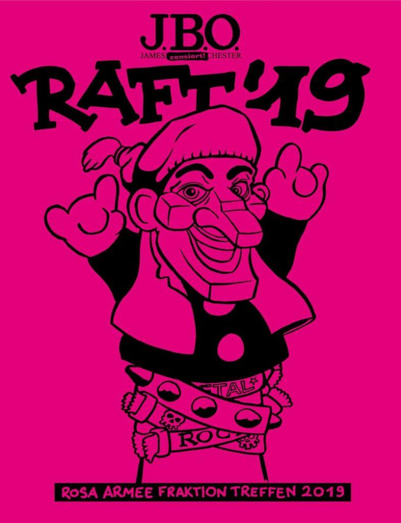 📅 RAFT19: Termin und das Shirt!