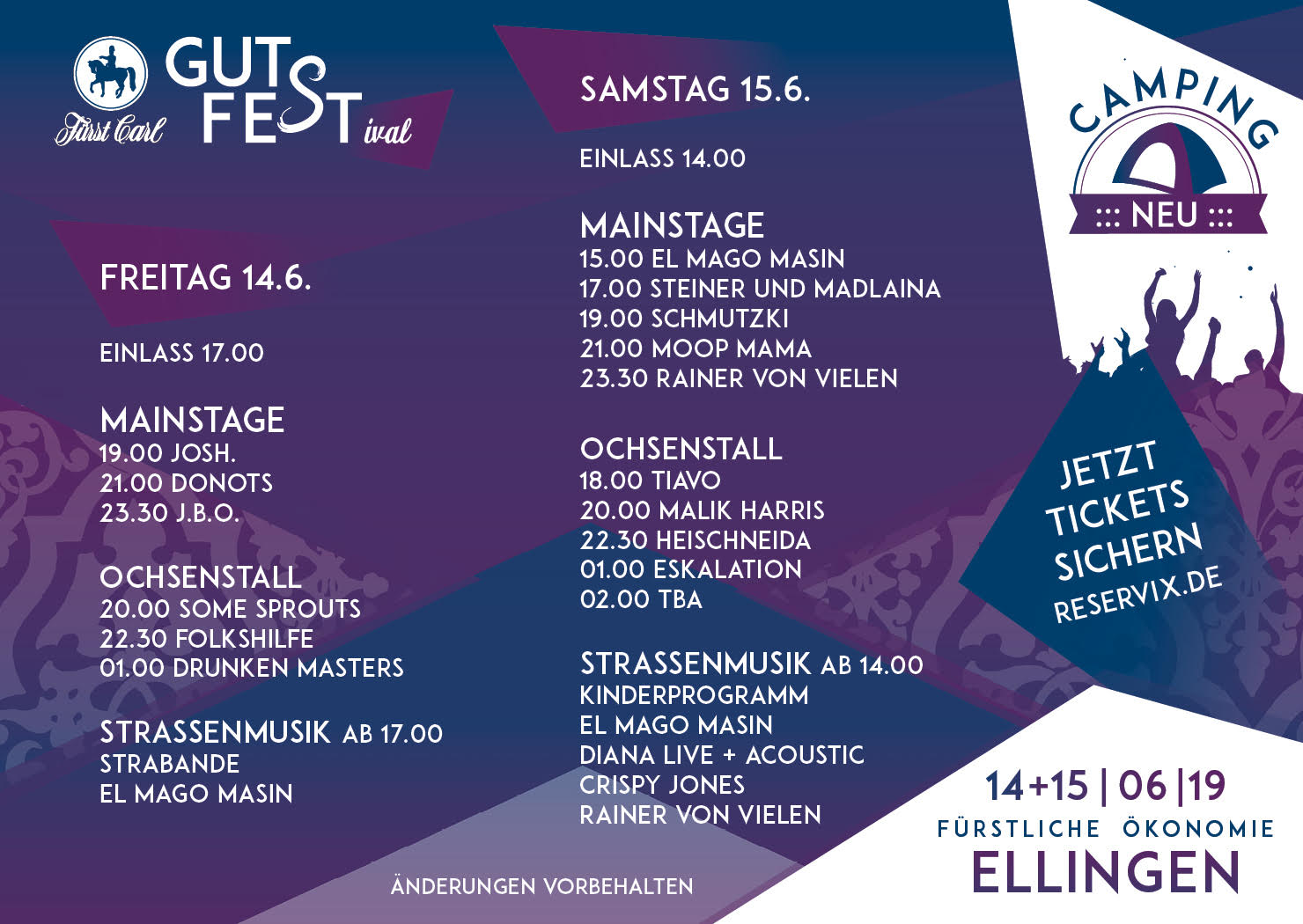 14.06.19 - Fürst Carl Gutsfest, Ellingen