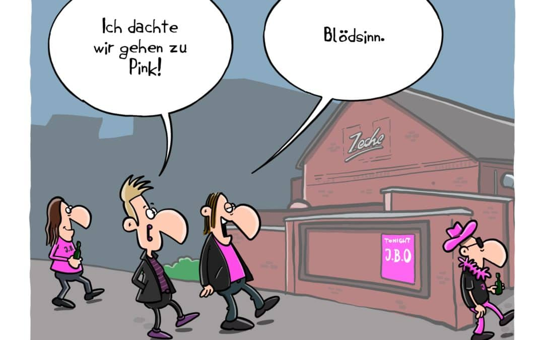 Cartoon: Pink