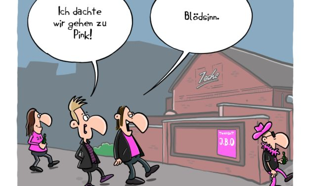 Cartoon: Pink
