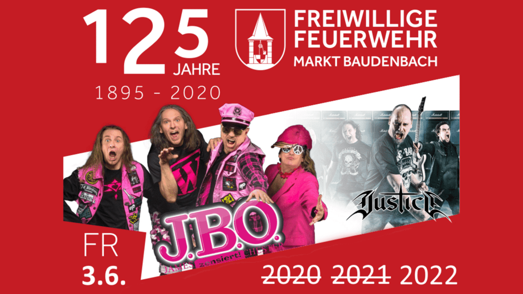 Freitag, 3. Juni 2022 - Festwiese Baudenbach, Baudenbach