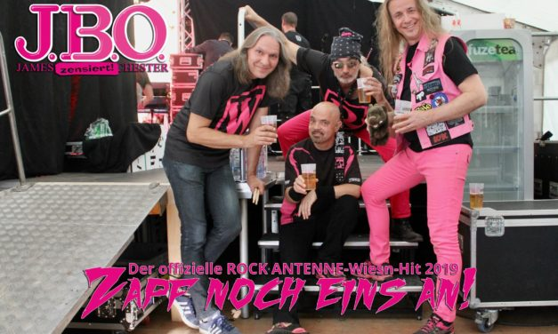 """J.B.O.-Wiesn-Song für Rock Antenne: """"Zapf noch eins an!"""""""