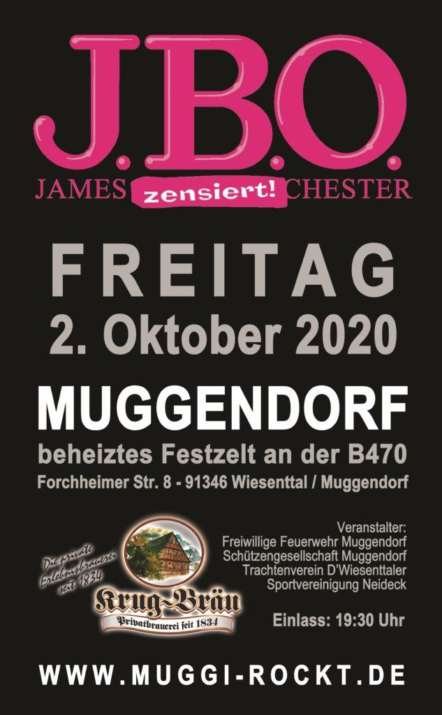 Freitag, 2. Oktober 2020 - Kirchweih Festzelt, Wiesenttal/Muggendorf