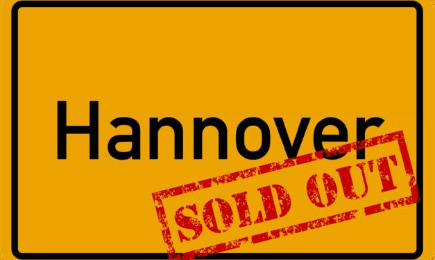 Sau-Tour 2019: Hannover ausverkauft!
