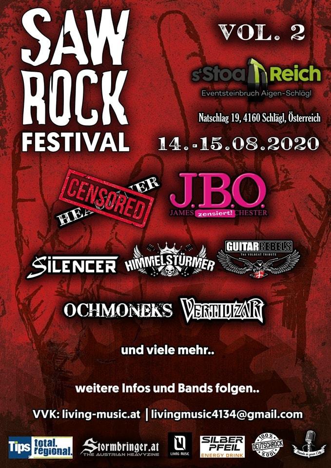 13. - 14. August 2021 - SAW Festival, Putzleinsdorf