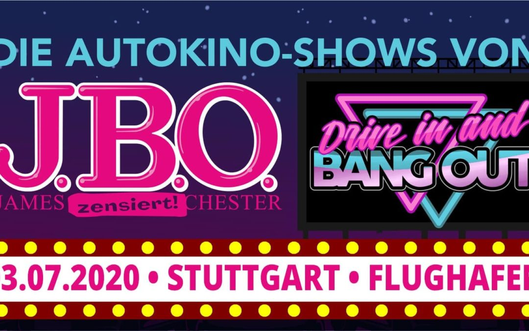 🚘 Drive in and Bang out in Stuttgart am 3. Juli 2020