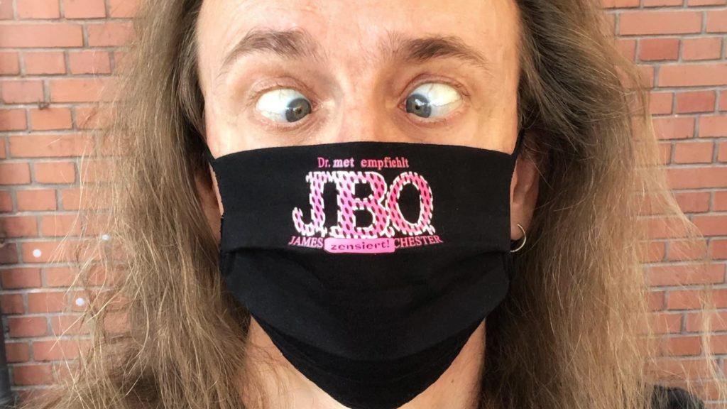 Neu im Ultrastore: J.B.O.-Mund-Nase-Bedeckung 😷
