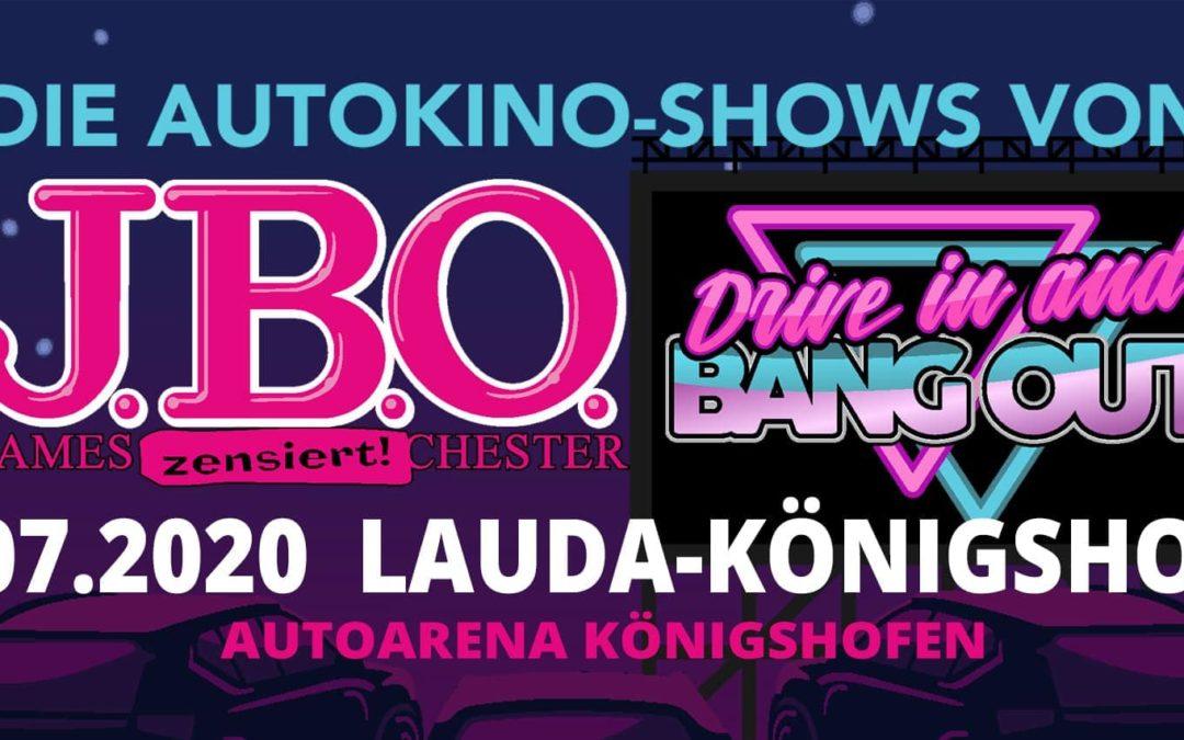 Drive in and Bang out: Freitag, 17. Juli 2020 – Autoarena Königshofen, Lauda-Königshofen