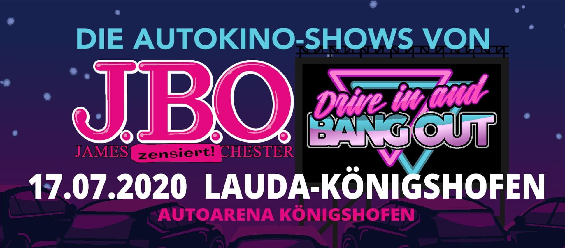 Drive in and Bang out: Freitag, 17. Juli 2020 - Autoarena Königshofen, Lauda-Königshofen