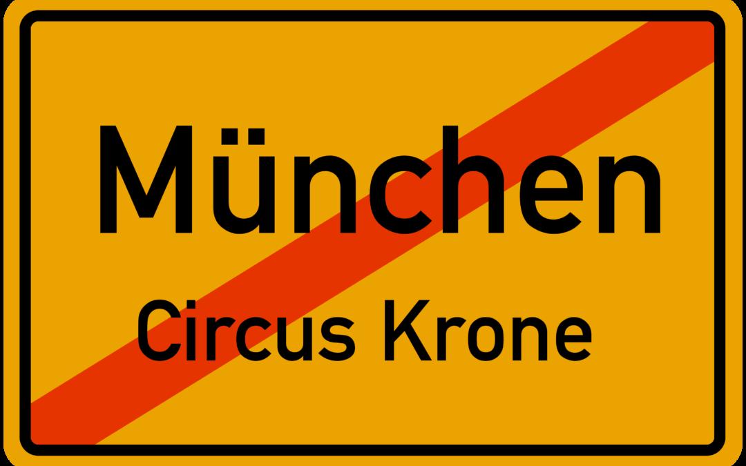 Konzert im Circus Krone abgesagt 🙁