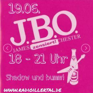 Webradio: J.B.O.-Sondersendung bei Radio Illertal