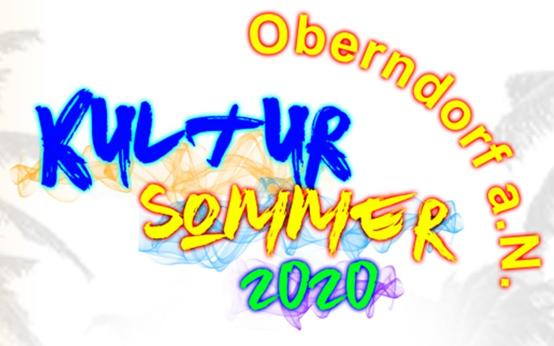 Festivals: Freitag, 11. September 2020 – Kultursommer Oberndorf, Oberndorf am Neckar