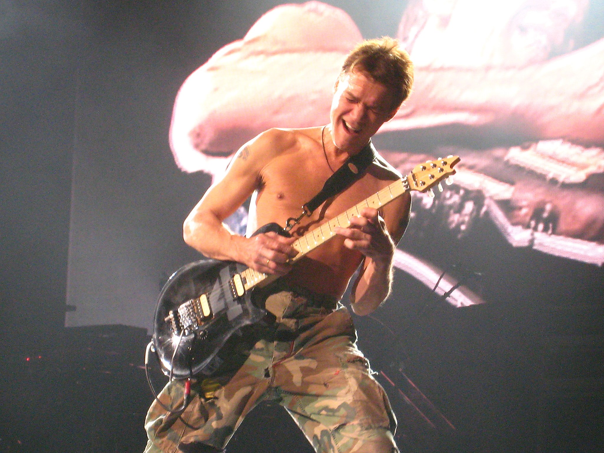 Eddie van Halen / Anirudh Koul from Montreal, Canada / CC BY (https://creativecommons.org/licenses/by/2.0)