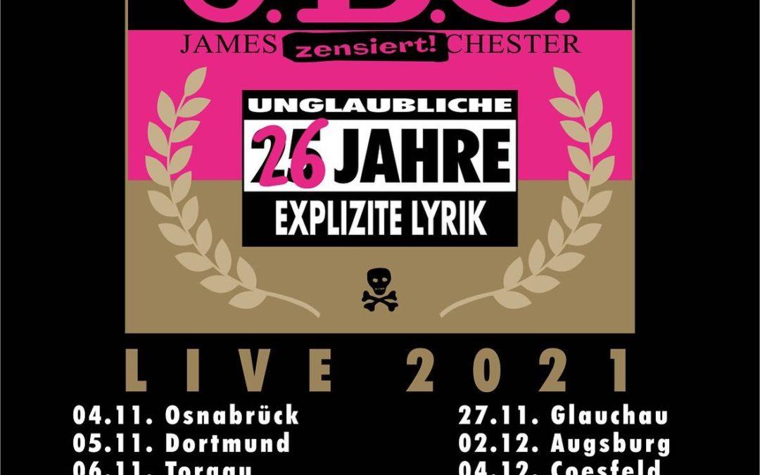Instagram: 26 Jahre Explizite Lyrik – endlich wieder Tour-Termine!