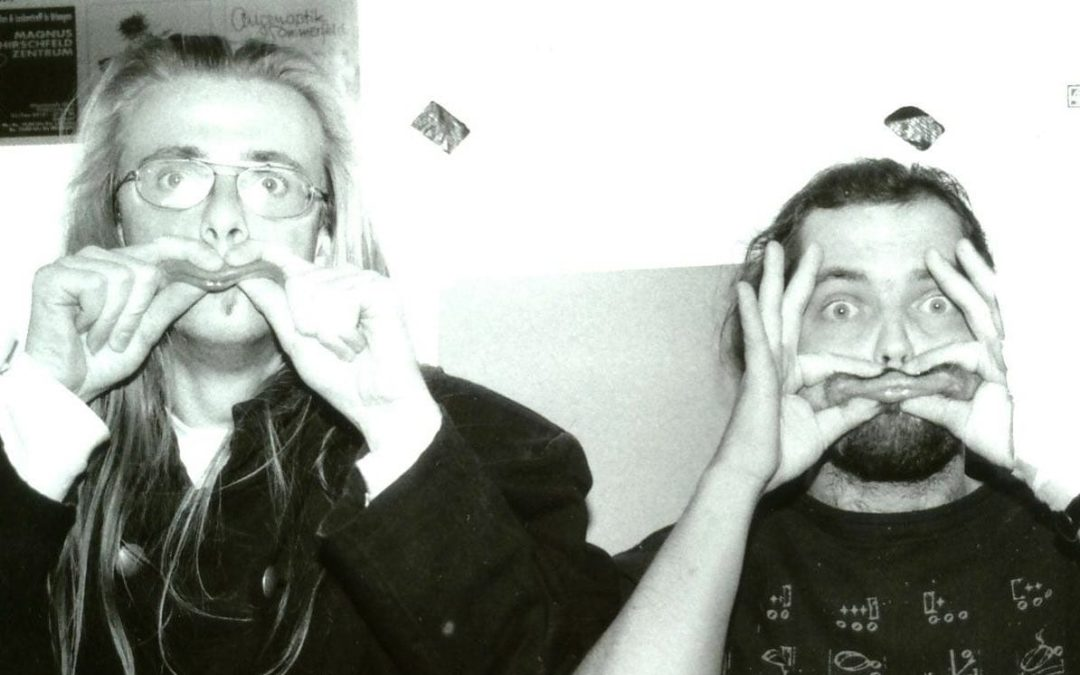 Instagram: Dies ist ein sehr altes Bild. Es zeigt Hannes und Vito…