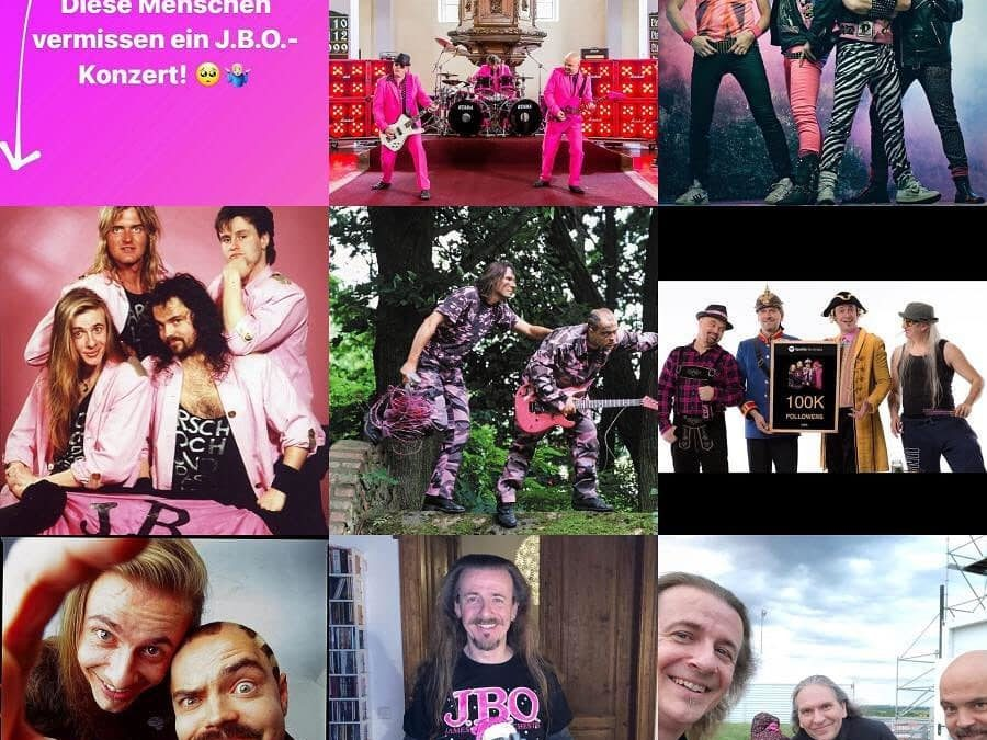 """Instagram: Die """"Top Nine"""" Liste 2020. Hat ja bald ein Ende, das Elend…"""