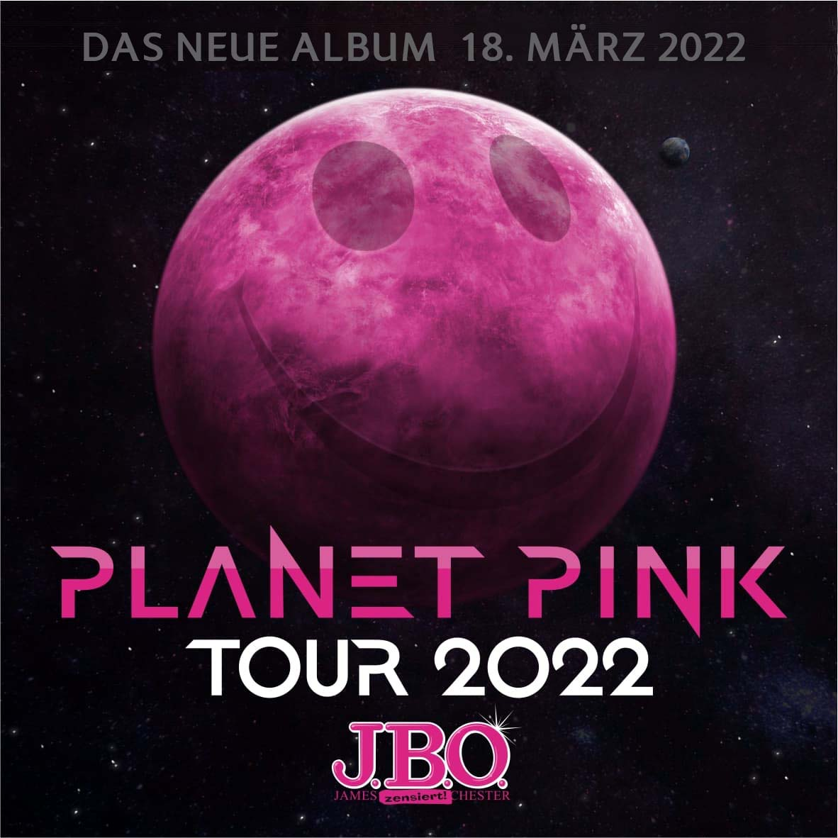 Neues Album und Tour 2022: Planet Pink