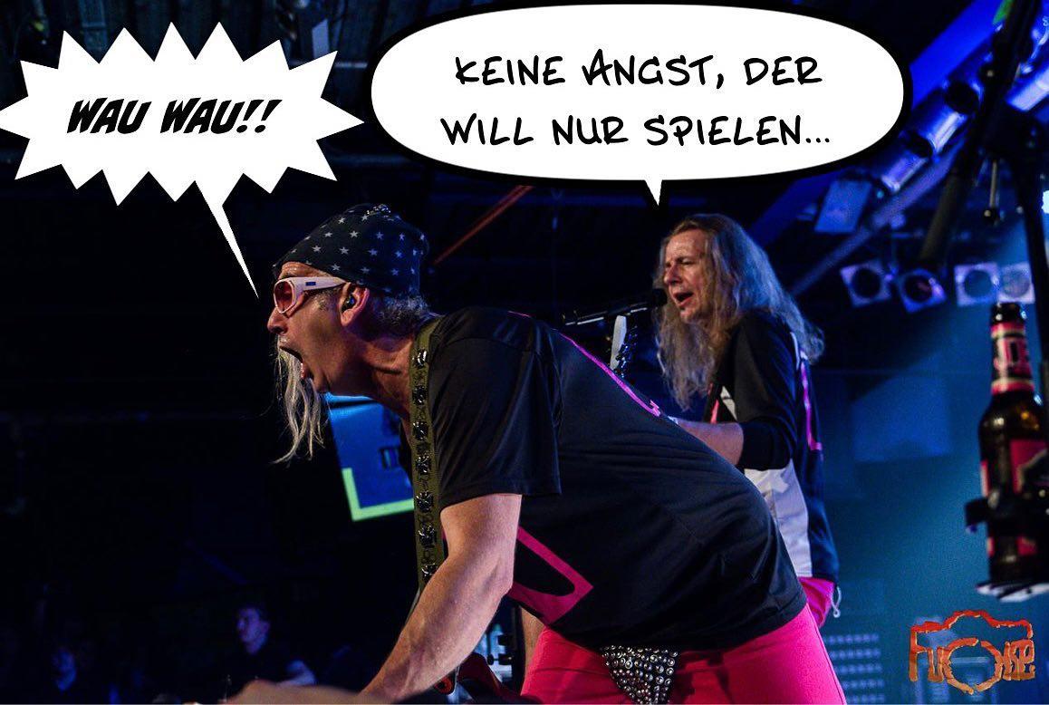 """Instagram:""""…der tuuuut nix!"""" 😁😅😋 Pic.: #fuchsefotografie #ralphundvito #vitoundralph #jbolive #jbokonzert #livepic #concertphoto"""