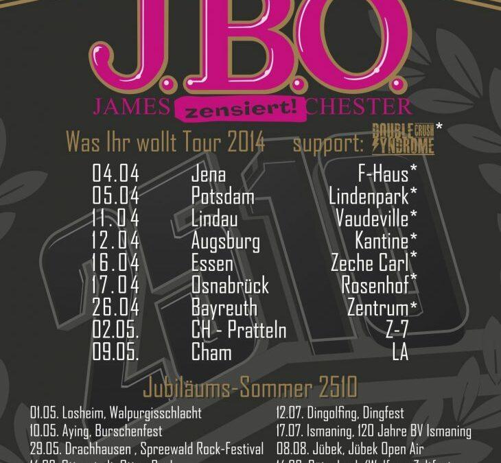 26.09.2014 – J.B.O. in Wilsingen, Sichelhenke